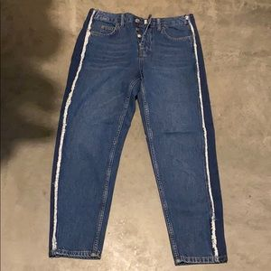 Topshop jeans with side detail